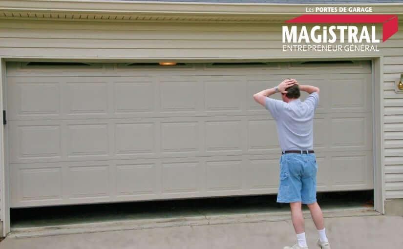 Les problèmes les plus courants des portes de garages